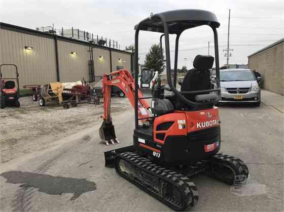 2015 Used KUBOTA U17 Excavator Des Moines, Iowa