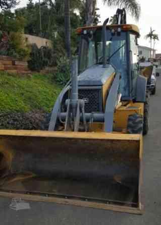 2012 Used DEERE 410J Backhoe San Diego