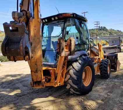 2012 Used CASE 590SN Backhoe San Diego