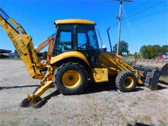 2003 Used NEW HOLLAND LB75B Backhoe Memphis