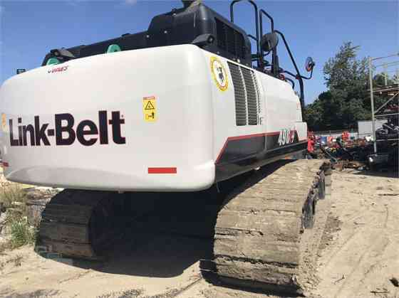 2016 Used LINK-BELT 490 X4 Excavator Placentia