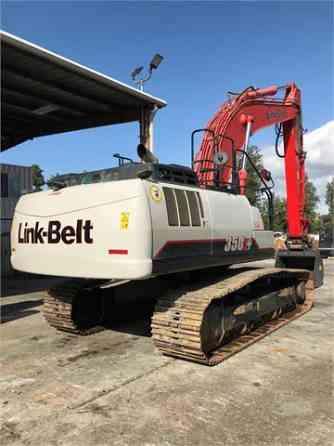 2016 Used LINK-BELT 350 X4 Excavator Placentia