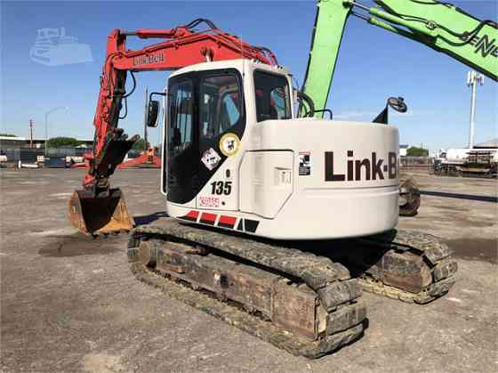 2011 Used LINK-BELT 135 SPIN ACE Excavator Placentia