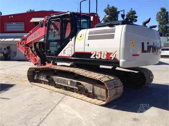 2016 Used LINK-BELT 250 X4 Excavator Placentia