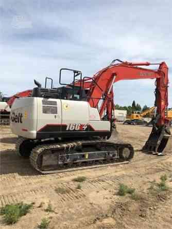 2016 Used LINK-BELT 160 X4 Excavator Placentia