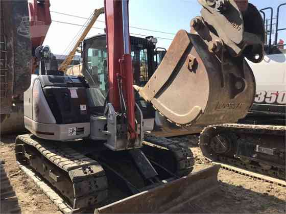 2014 Used LINK-BELT 80 X3 SPIN ACE Excavator Placentia