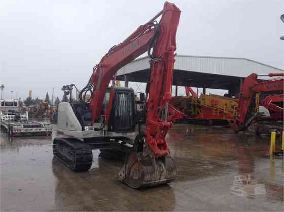 2014 Used LINK-BELT 145 X3 SPIN ACE Excavator Placentia