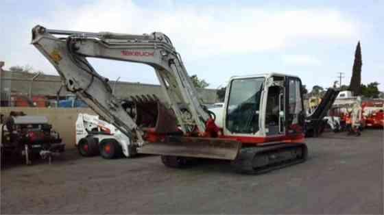 2012 Used TAKEUCHI TB285 Excavator Santa Fe Springs