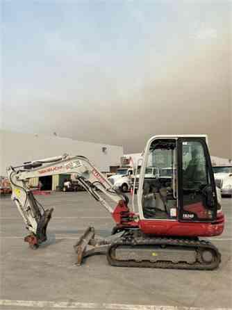 2015 Used TAKEUCHI TB240 Excavator Santa Fe Springs