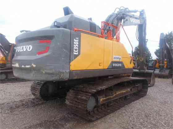 2016 Used VOLVO EC350EL Excavator Charlotte