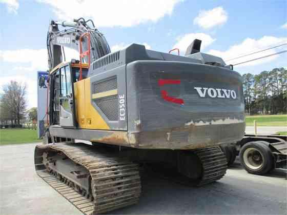 2017 Used VOLVO EC350EL Excavator Charlotte