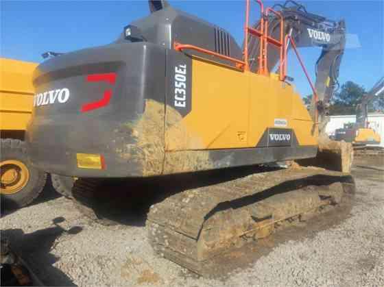 2019 Used VOLVO EC350EL Excavator Charlotte