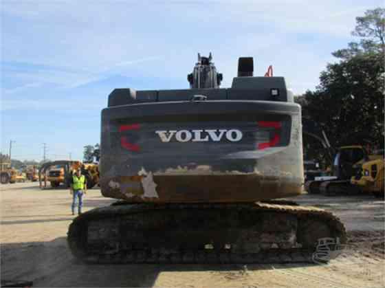 2017 Used VOLVO EC350E Excavator Charlotte