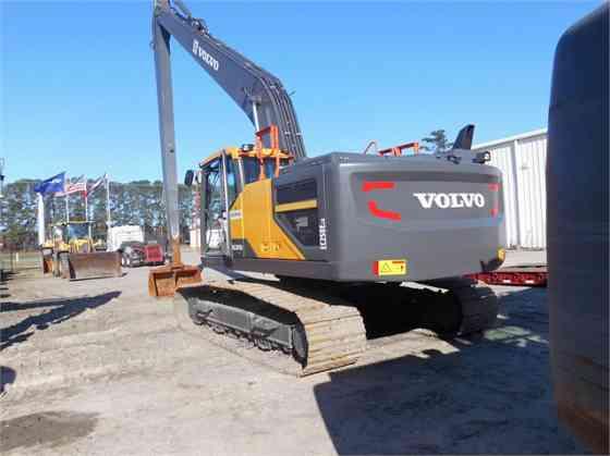 2017 Used VOLVO EC250EL Excavator Charlotte