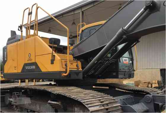 2015 Used VOLVO EC250E LR Excavator Charlotte