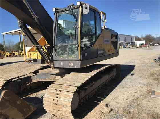 2016 Used VOLVO EC250E LR Excavator Charlotte