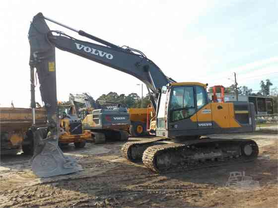 2017 Used VOLVO EC220EL Excavator Charlotte