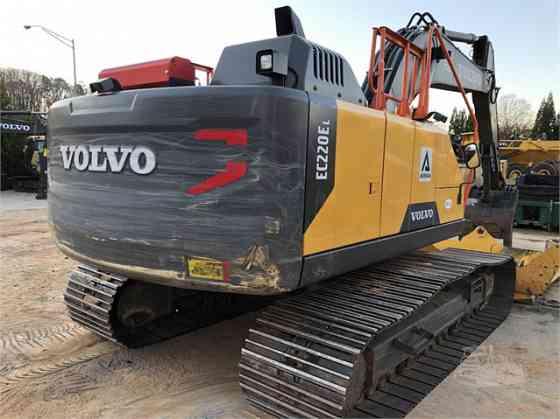 2018 Used VOLVO EC220EL Excavator Charlotte