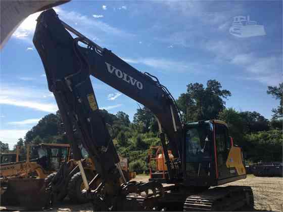 2016 Used VOLVO EC160EL Excavator Charlotte