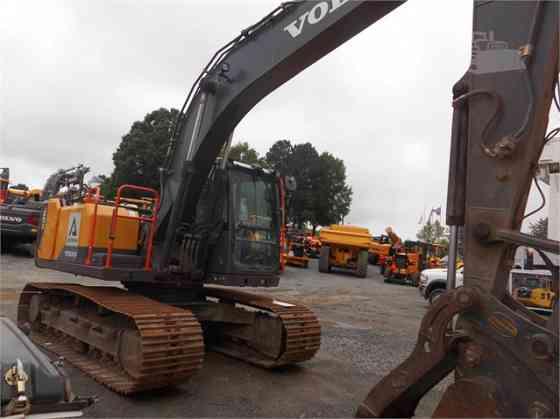 2017 Used VOLVO EC160EL Excavator Charlotte