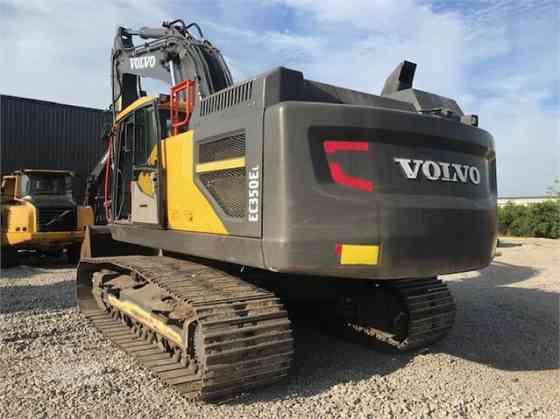 2018 Used VOLVO EC350EL Excavator Charlotte