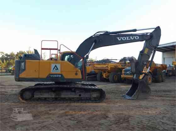 2018 Used VOLVO EC220DL Excavator Charlotte