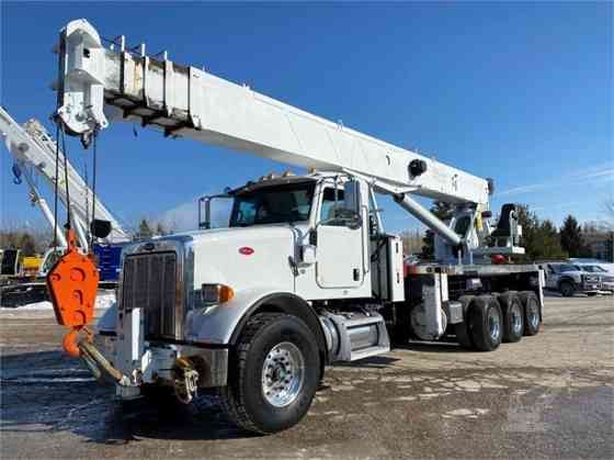 2010 ALTEC AC38-127S Crane Mounted On 2010 PETERBILT 365 Birmingham, Alabama