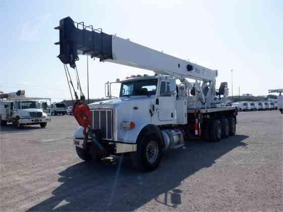 2012 ALTEC AC38-127S Crane Mounted On 2013 PETERBILT 365 Birmingham, Alabama