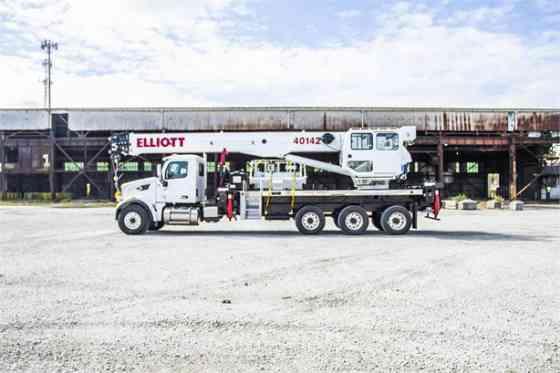 2019 ELLIOTT 40142R Truck-Mounted Crane On 2019 PETERBILT 567 Kansas City, Missouri