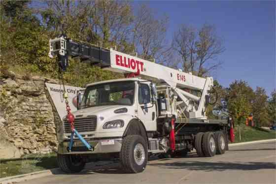 2016 ELLIOTT E145 Truck-Mounted Crane On 2016 FREIGHTLINER M2 106 Kansas City, Missouri