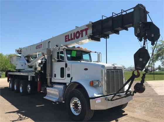 2014 ELLIOTT 45127 Truck-Mounted Crane On 2016 PETERBILT 367 Kansas City, Missouri