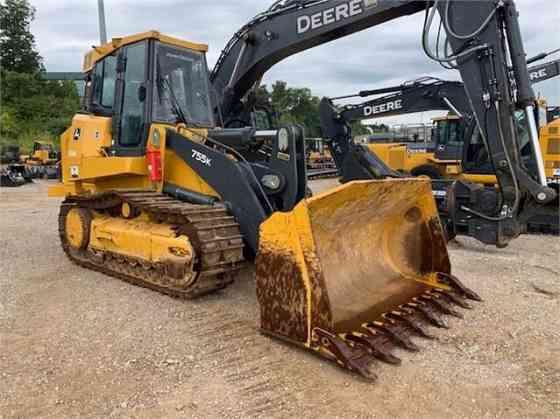 2018 Used DEERE 755K Track Loader St. Louis