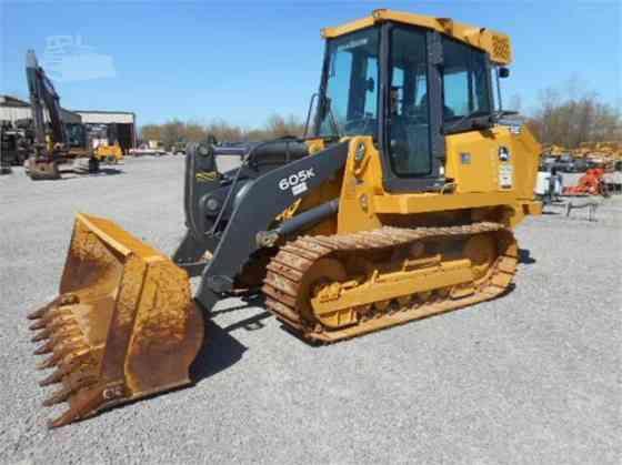 2015 Used DEERE 605K Track Loader St. Louis