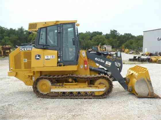 2016 Used DEERE 605K Track Loader St. Louis