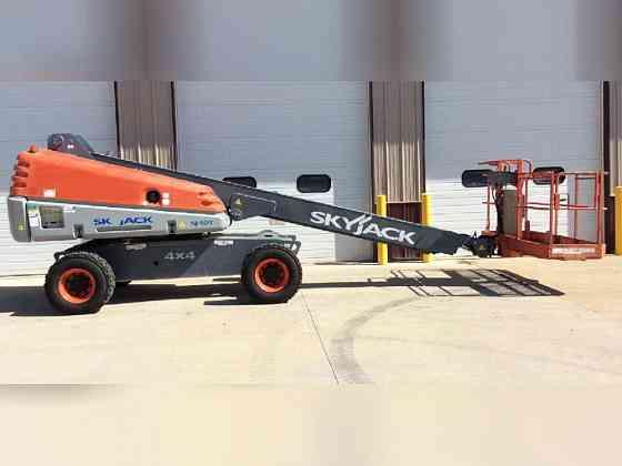 2012 Used SkyJack SJ40T Boom Lift Bristol, Pennsylvania