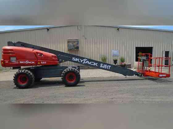 2019 Used SkyJack SJ61T Boom Lift Bristol, Pennsylvania