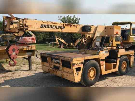 2007 Used Broderson IC80-3G Boom Lift Bristol, Pennsylvania