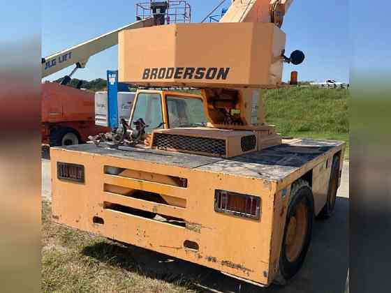2004 Used Broderson IC200-2F Boom Lift Bristol, Pennsylvania