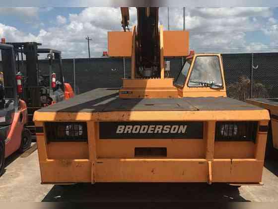 2007 Used Broderson IC200-3F Boom Lift Bristol, Pennsylvania