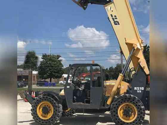 2012 Used Gehl RS10-55 Telehandler Bristol, Pennsylvania