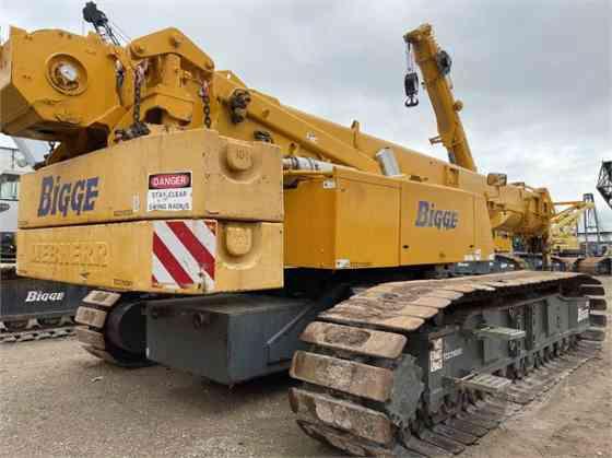 2013 Used LIEBHERR LTR1100 Crane Houston