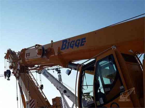 2018 Used LIEBHERR LTR1100 Crane Houston