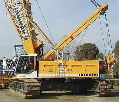 2001 Used LIEBHERR LR1160 Crane Houston