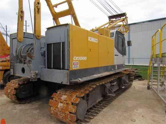 2011 Used KOBELCO CK1000 II Crane Houston