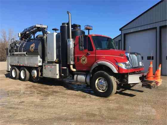 2007 Used INTERNATIONAL WORKSTAR 7600 Vacuum Truck Chicago