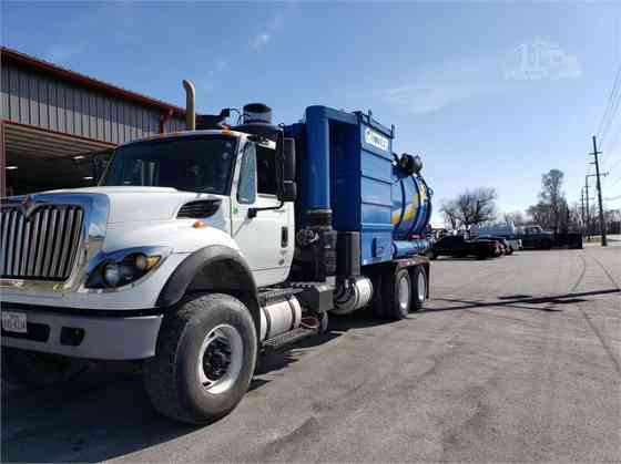 2011 Used INTERNATIONAL WORKSTAR 7600 Vacuum Truck Chicago