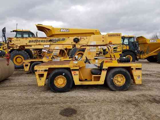 2006 Used BRODERSON IC80-3G Crane Fort Dodge