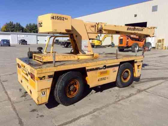 2003 Used BRODERSON IC80-3F Crane Fort Dodge