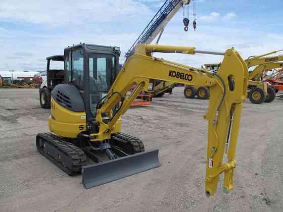 2015 Used KOBELCO SK35SR-6E Excavator Fort Dodge