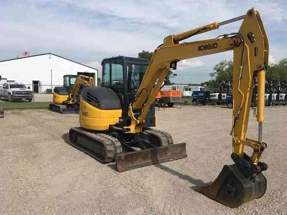 2018 Used KOBELCO SK55SRX-6E Excavator Fort Dodge